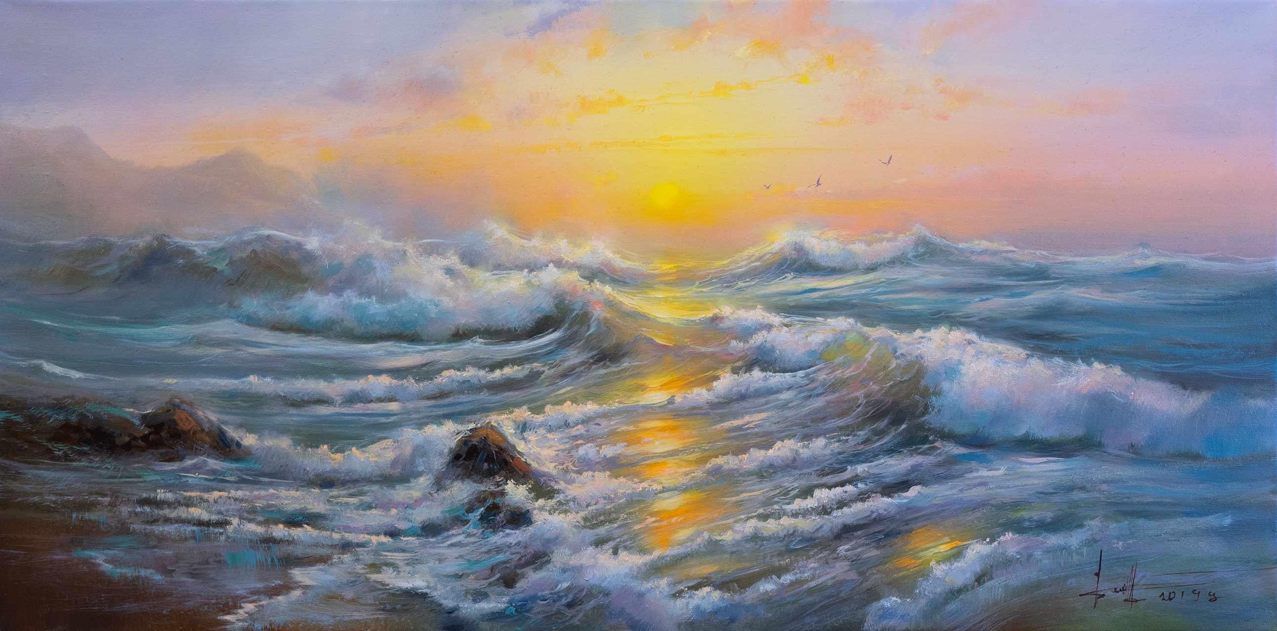 Светлое море